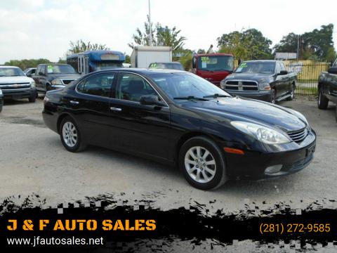 2003 Lexus ES 300 for sale at J & F AUTO SALES in Houston TX