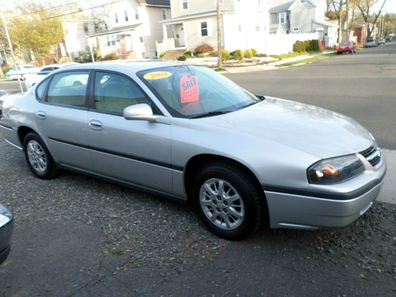 2004 Chevrolet Impala for sale at PARK AUTO SALES in Roselle NJ