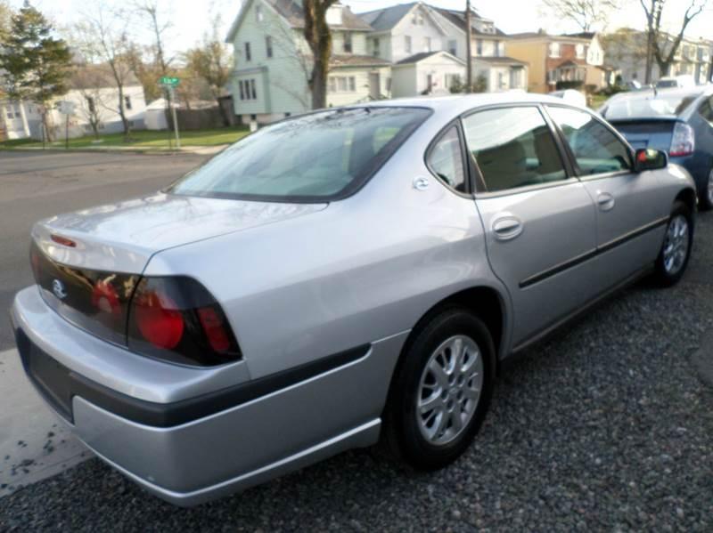 2004 Chevrolet Impala Base 4dr Sedan - Roselle NJ