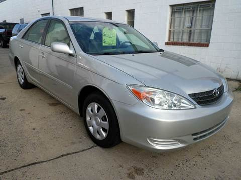 2003 Toyota Camry for sale at PARK AUTO SALES in Roselle NJ