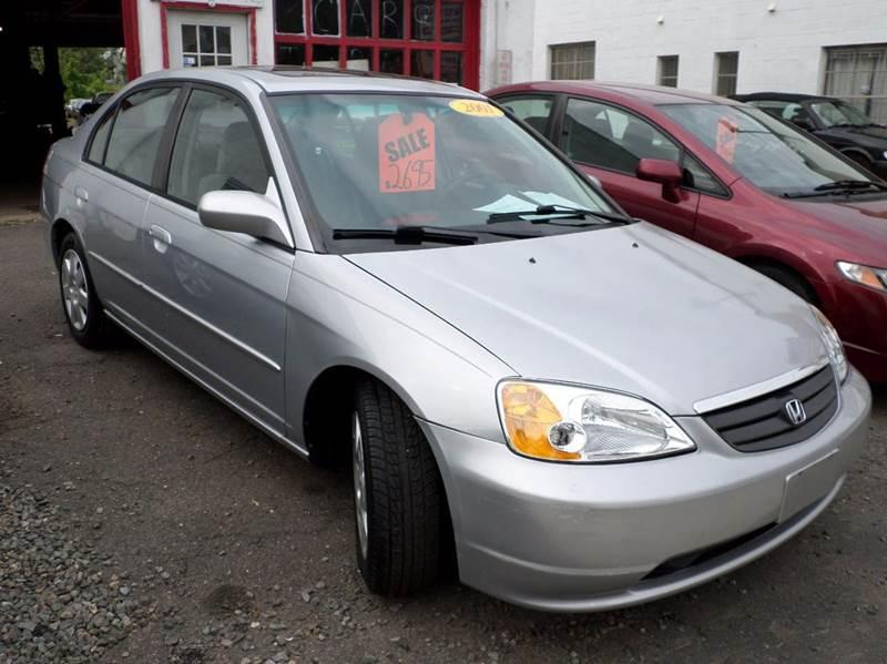 2001 Honda Civic EX 4dr Sedan - Roselle NJ