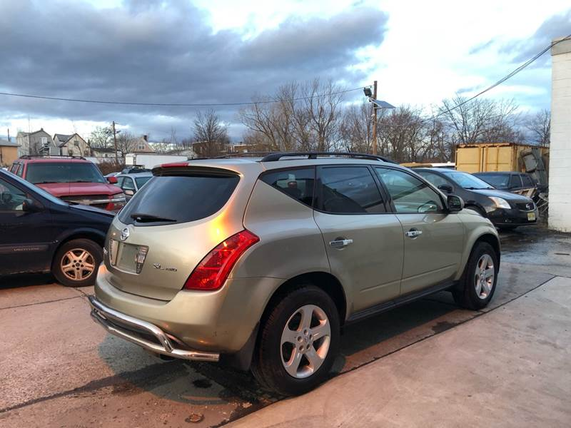 2005 Nissan Murano AWD SL 4dr SUV - Roselle NJ