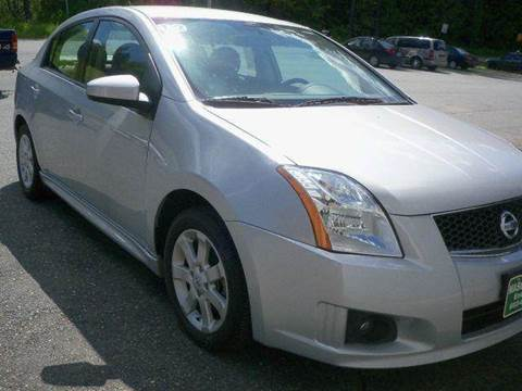 2012 Nissan Sentra for sale at Mascoma Auto INC in Canaan NH