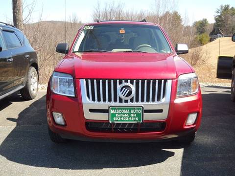 2008 Mercury Mariner for sale at Mascoma Auto INC in Canaan NH