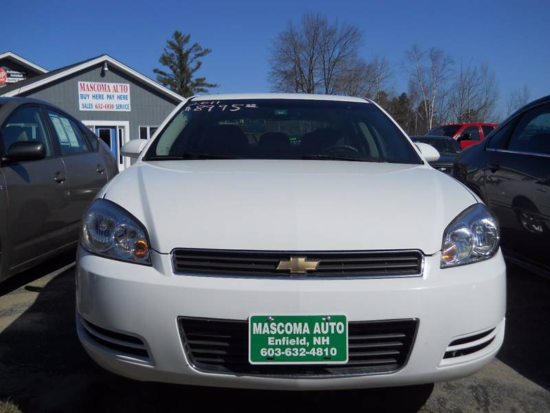 2011 Chevrolet Impala for sale at Mascoma Auto INC in Canaan NH