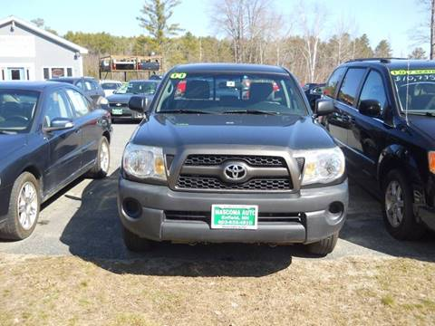 2011 Toyota Tacoma for sale at Mascoma Auto INC in Canaan NH