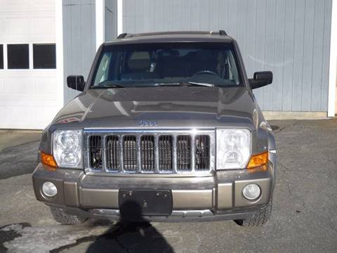 2006 Jeep Commander for sale at Mascoma Auto INC in Canaan NH