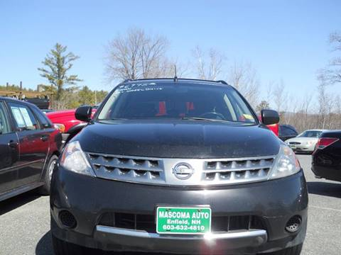 2006 Nissan Murano for sale at Mascoma Auto INC in Canaan NH