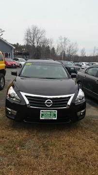 2014 Nissan Altima for sale at Mascoma Auto INC in Canaan NH