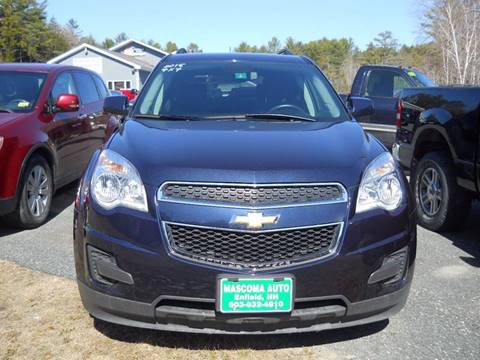 2015 Chevrolet Equinox for sale at Mascoma Auto INC in Canaan NH
