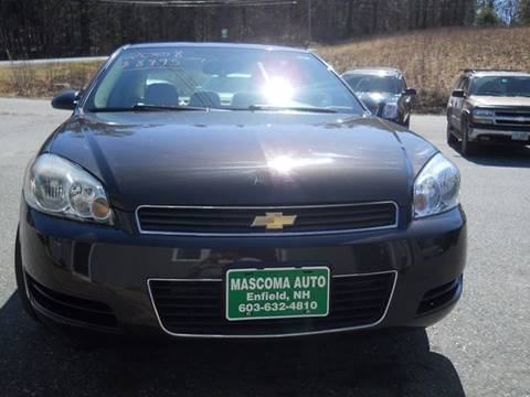 2008 Chevrolet Impala for sale at Mascoma Auto INC in Canaan NH