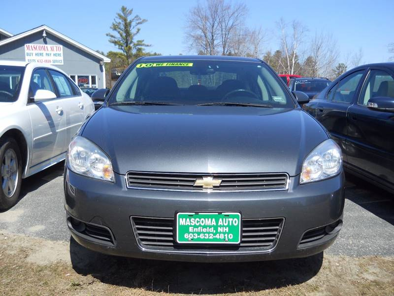 2010 Chevrolet Impala for sale at Mascoma Auto INC in Canaan NH