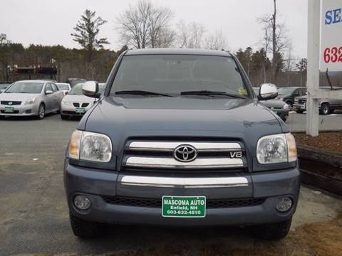 2006 Toyota Tundra for sale at Mascoma Auto INC in Canaan NH