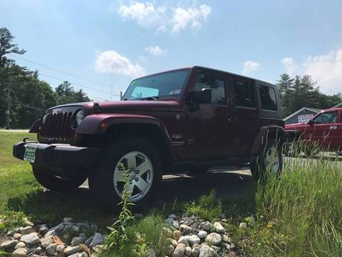 2007 Jeep Wrangler Unlimited for sale in Canaan, NH