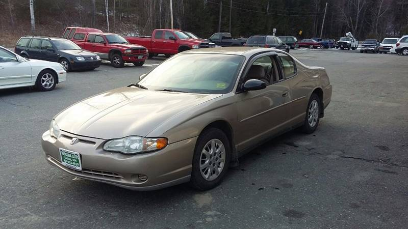 2003 Chevrolet Monte Carlo for sale at Mascoma Auto INC in Canaan NH