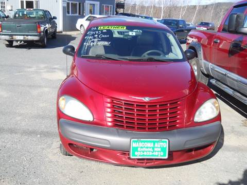 2002 Chrysler PT Cruiser for sale at Mascoma Auto INC in Canaan NH