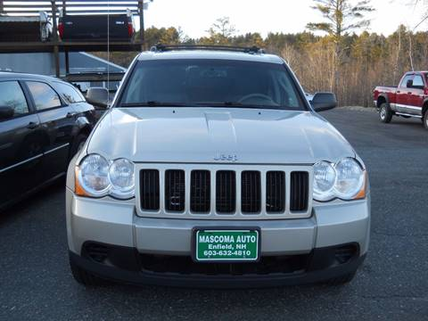 2010 Jeep Grand Cherokee for sale at Mascoma Auto INC in Canaan NH