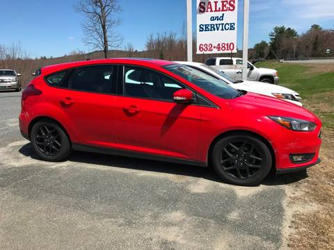 2016 Ford Focus for sale in Canaan, NH
