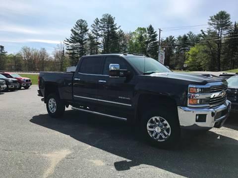 2017 Chevrolet Silverado 2500HD for sale in Canaan, NH