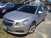 2012 Chevrolet Cruze for sale at Mascoma Auto INC in Canaan NH