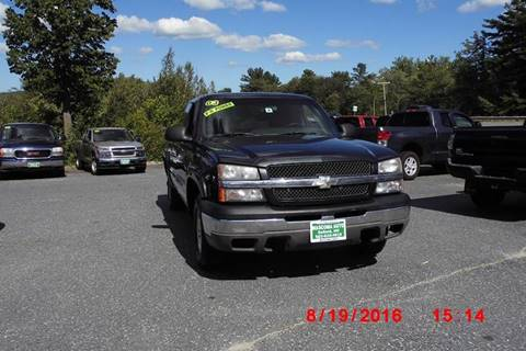 2003 Chevrolet Silverado 1500 for sale at Mascoma Auto INC in Canaan NH