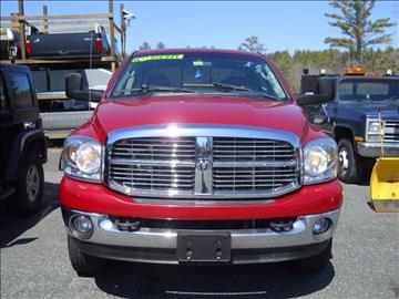 2007 Dodge Ram Pickup 2500 for sale at Mascoma Auto INC in Canaan NH