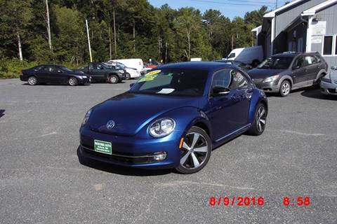 2013 Volkswagen Beetle for sale at Mascoma Auto INC in Canaan NH