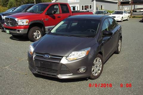 2012 Ford Focus for sale at Mascoma Auto INC in Canaan NH