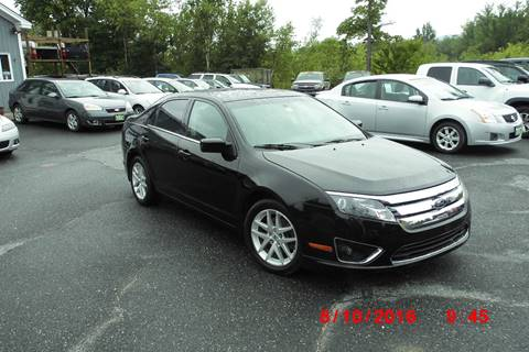 2011 Ford Fusion for sale at Mascoma Auto INC in Canaan NH