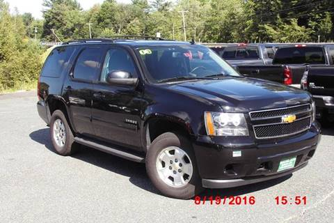 2013 Chevrolet Tahoe for sale at Mascoma Auto INC in Canaan NH