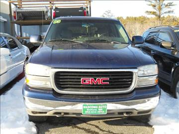 2003 GMC Yukon for sale at Mascoma Auto INC in Canaan NH