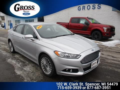 2016 Ford Fusion for sale in Neillsville, WI