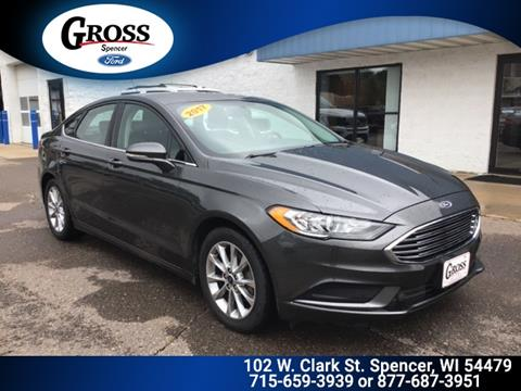 2017 Ford Fusion for sale in Neillsville, WI