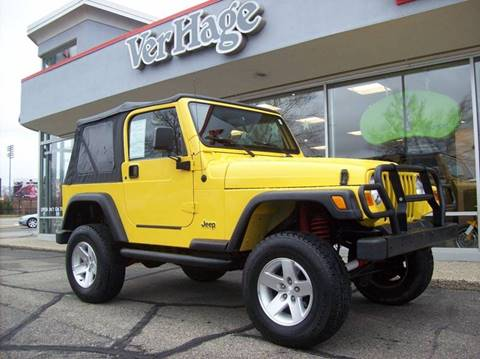 2000 Jeep Wrangler for sale in Holland, MI