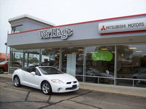 2008 Mitsubishi Eclipse Spyder for sale in Holland, MI