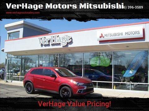 2018 Mitsubishi Outlander Sport LE for sale at VerHage Motors Mitsubishi in Holland MI