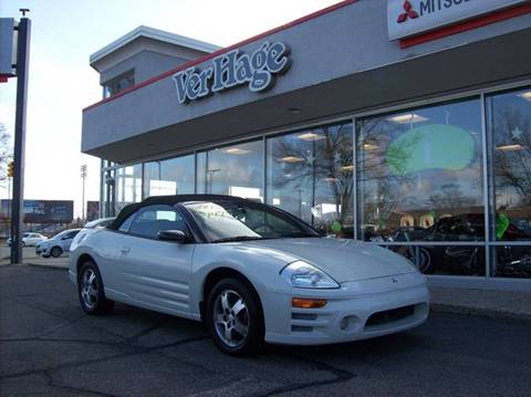 2003 Mitsubishi Eclipse Spyder for sale in Holland, MI
