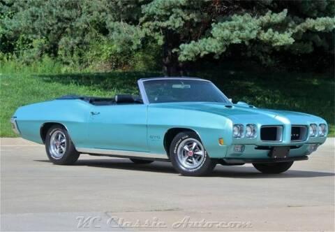 1970 Pontiac GTO for sale at KC CLASSIC AUTO in Lenexa KS