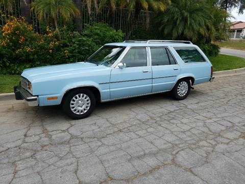 Ford Fairmont For Sale >> 1981 Ford Fairmont For Sale In La Habra Ca