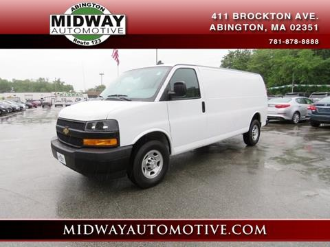 2018 Chevrolet Express Cargo for sale in Abington, MA