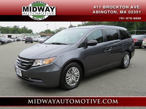 2016 Honda Odyssey for sale in Abington, MA