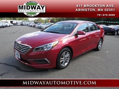 2017 Hyundai Sonata for sale in Abington, MA