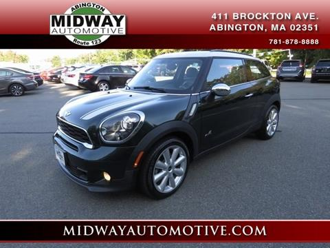 2013 MINI Paceman for sale in Abington, MA