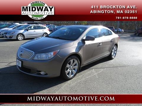 2011 Buick LaCrosse for sale in Abington, MA