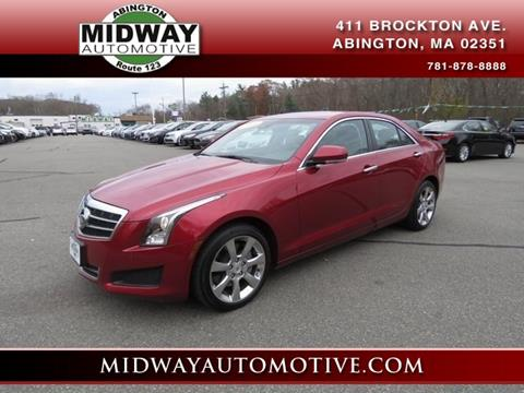 2014 Cadillac ATS for sale in Abington, MA