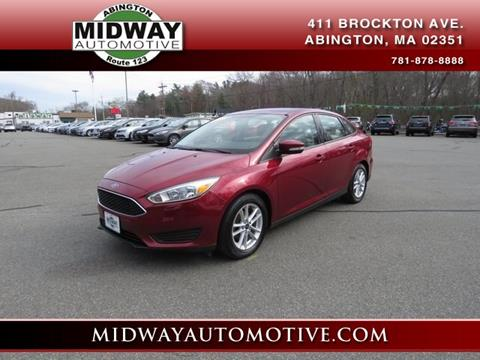2015 Ford Focus for sale in Abington, MA