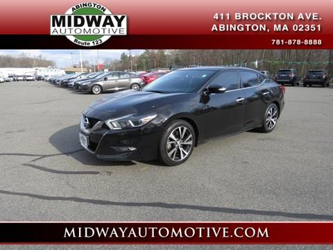 2017 Nissan Maxima for sale in Abington, MA