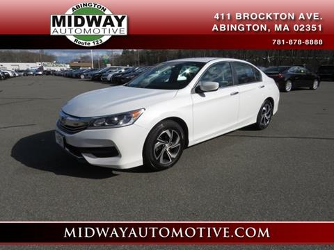 2016 Honda Accord for sale in Abington, MA
