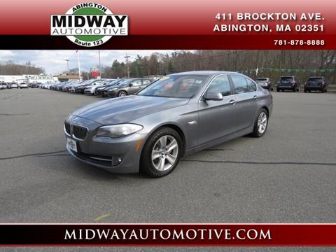 2013 BMW 5 Series for sale in Abington, MA