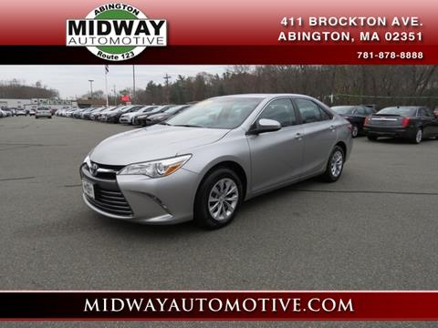 2016 Toyota Camry for sale in Abington, MA